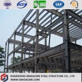 Hot DIP Galvanized Prefab Steel Structure Warehouse with Materials Building