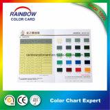 Carte de couleur de peinture au plancher pliante professionnelle personnalisée