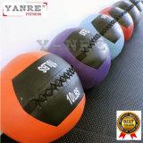 Bola suave de la pared de la PU del golpe de la medicina del peso del ejercicio de Crossfit del equipo de la aptitud de la gimnasia
