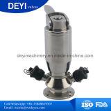 SS316 SS304 Válvula Torneira de amostragem sanitárias