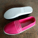 Zapatos del deporte de la inyección de los zapatos ocasionales de la señora barata (FF1031-2)