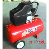 2HP 25L направляют управляемый компрессор воздуха винта поршеня