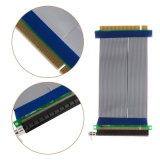16X暴徒エクステンダーカードのアダプターの適用範囲が広いケーブルへのPcie 16X PCI明白なPCI-E 16X