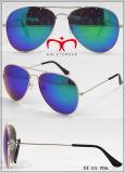 Óculos de sol de metal de moda para senhoras (WSM504047)