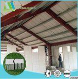 Pannello a sandwich modulare del tetto della manodopera di costi del cemento di memoria bassa della gomma piuma