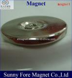 Het dunne Gat van de Schroef om Magneet