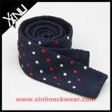 Cravate en tricot polyester en soie à la mode pour mariage