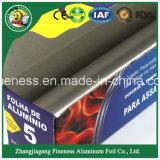 Tama o de la familia de pila de discos de Rolls del papel de aluminio de la manera para la barbacoa