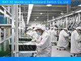 Multi LED-Abdeckung geprägter Membranschalter mit freier acrylsauerrückplatte