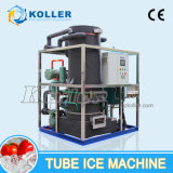 O tubo de 10 toneladas de grande capacidade máquina de gelo com sistema de controlo PLC