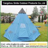 Tenda di campeggio di lusso di alluminio esterna del Tipi della tela di canapa del cotone del Palo di meditazione