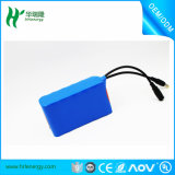 Paquete de batería personalizado 3s 18650 8.8ah para la lámpara del camino