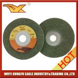 диск 100X12mm Non-Woven полируя (зеленый цвет)