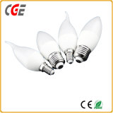 Ce&certifiés ISO LED 5W E14 Candle Light Ampoule de LED Lampes à LED