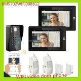 Neueste Technologie WiFi videotür-Telefon-Türklingel-AusgangsSicherheitssystem