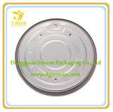 126.5mmのアルミ缶の容易な開いたふたの/Foilの終わりの/Metalの帽子