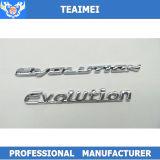 Эмблема письма автомобиля крома изготовленный на заказ ABS логоса автомобиля пластичная