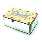 Kundenspezifischer Glasschmucksache-Großhandelskasten Hx-7243