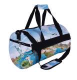 Дешевые Износопрочная ткань спортивные сумки моды динамического Duffel Bag