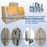 Merchandiser van het ijs met de Stevige Deur van het Aluminium (wgl-570)