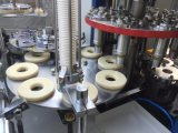 Copo de papel inteiramente automático que dá forma a máquinas para copos da cola