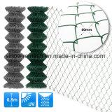 Tipo di collegamento Chain d'acciaio reti fisse mobili provvisorie della rete metallica per obbligazione