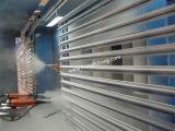 Alumniumのプロフィールのための中断粉の吹き付け塗装か絵画プラント