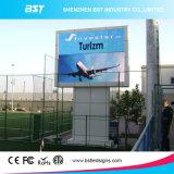 광고를 위한 고품질 성과 P10 풀 컬러 큰 옥외 LED 영상 위원회