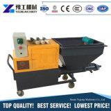 Pulvérisateur de pulvérisation automatique de mortier de machine de la colle à moteur diesel ou électrique de vis