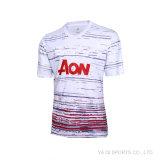2016 2017wholesale Short os esportes em branco da luva que treinam o fato de desporto, uniforme do fato de desporto do futebol