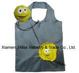 Pliable Sac Shopper, le visage de style, réutilisables, promotion, sac fourre-tout, léger