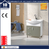 De witte Geschilderde Muur Opgezette Ijdelheid van de Badkamers met het Kabinet van de Spiegel