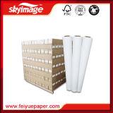 90GSM 1, 600mm*63inch jejuam papel seco do Sublimation da tintura para a impressora larga de Inkejet do formato