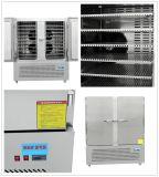 Congelador inoxidável do equipamento da cozinha de Stteel com 2 portas Ce, UL