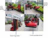 20-30HP heller Traktor gefahrener Slop seitlicher Dreschflegel-Mäher (EFDL 125)