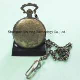 Reloj de bolsillo analógico de cuarzo de Japón Movimiento con tren