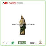 Figurine religioso della st Jude di Polyresin per la decorazione del giardino e della casa