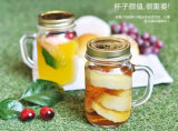 明確なガラスビンのガラス缶詰になるメーソンジャー、広い口の瓶