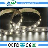 Brillo de la lista de LED SMD 6000K5630 24VDC tiras de LED flexible