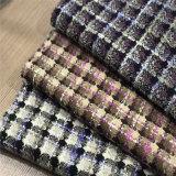 De gecontroleerde Stof van de Tweed voor Kleding, de Stof van het Kledingstuk, Textiel, de Stof van het Kostuum, TextielStof