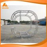 OEM/ODM Service-intelligentes Aluminiumerscheinen-dreieckiger Kreis-Binder