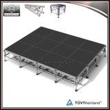 Portable di legno mobile mobile di alluminio esterno della fase