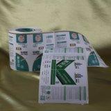 China imprimiu a etiqueta autoadesiva de papel da etiqueta