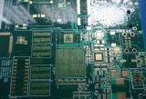 Persianas vía control de la impedancia de la tarjeta 10layer del PWB con oro de la inmersión