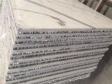 Arabescato CorchiaのFloornの装飾のための大理石の蜜蜂の巣のパネル