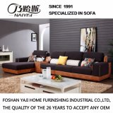 Moderne Art-Kaffee-Farben-Schutz-Gewebe-Sofa-Möbel Fb1140