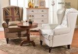 Cadeira confortável do sofá do lazer de Seater da sala de visitas americana do estilo única (LL-BC080)