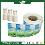 Étiquettes adhésives faites sur commande de collant de bouteille en verre de choc