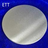 99.99% Cible en aluminium de pulvérisation de pureté de qualité, cible en aluminium