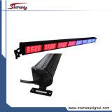 Le paquet Emergency de tableau de bord de véhicule de DEL allume la barre de DEL et le conseiller de circulation (LED62-8)